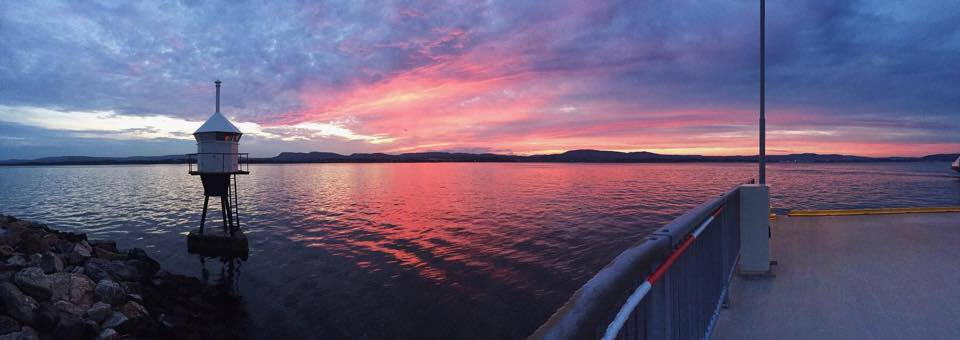 Pink sunset, Nesoddtangen, Carina Behrens - carinabehrens.com